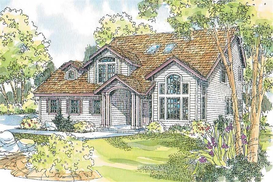 Main image for house plan # 13216