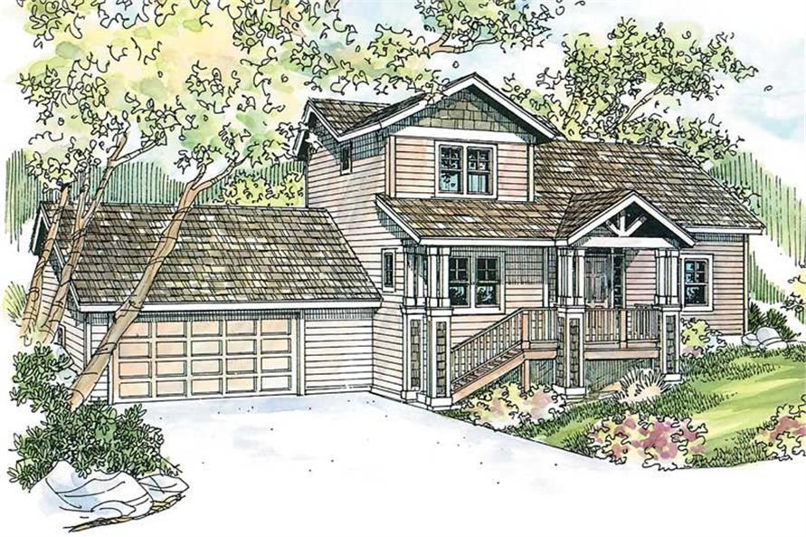 Main image for house plan # 13221