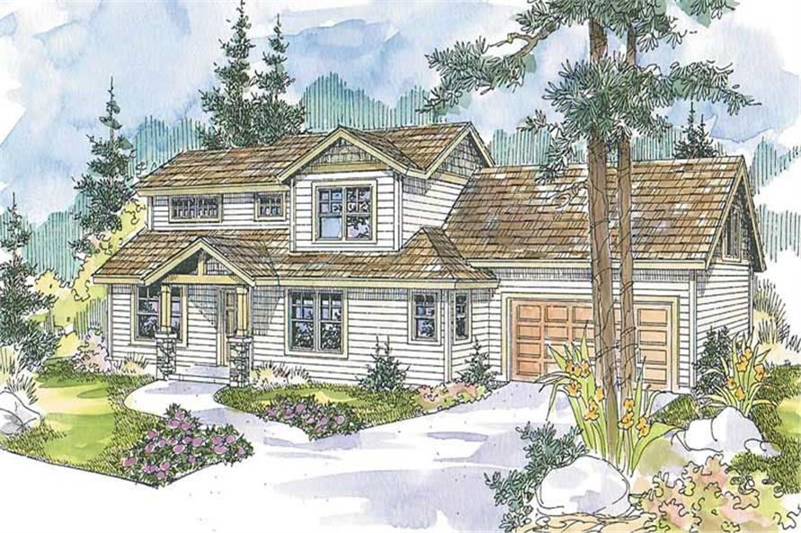 Main image for house plan # 13222