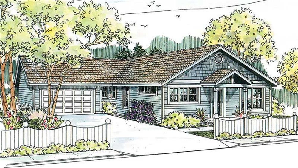 Main image for house plan # 13224
