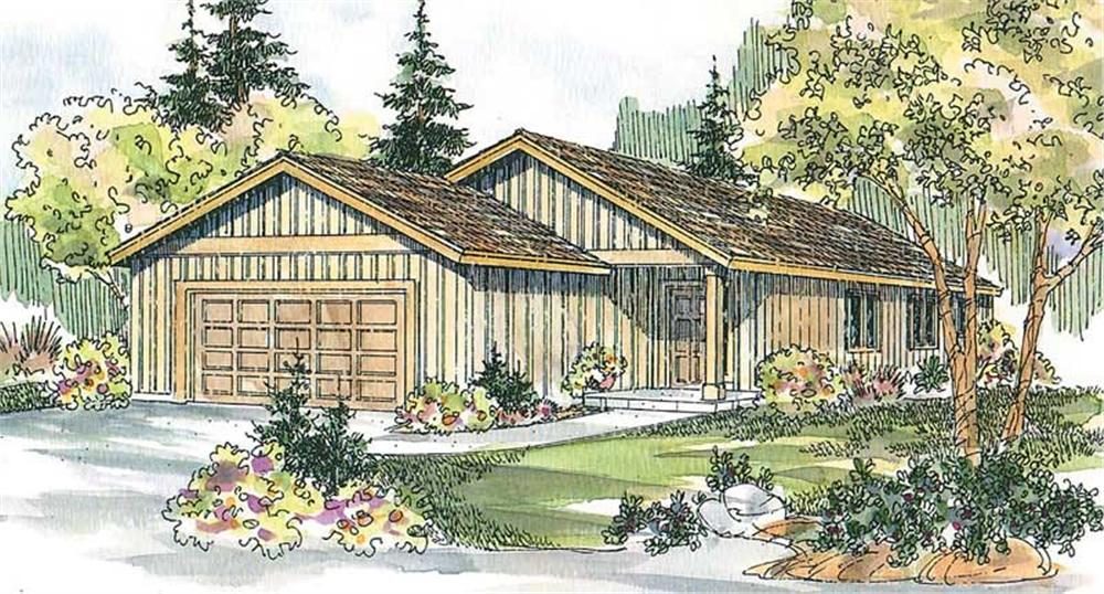 Main image for house plan # 13228