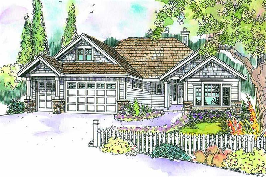 Main image for house plan # 9474