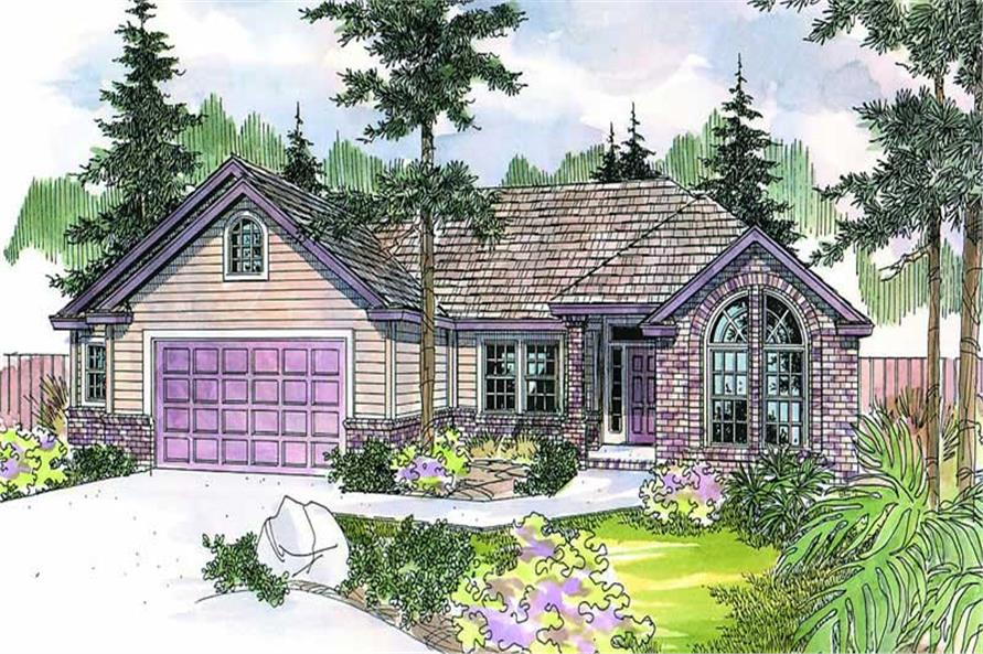 Main image for house plan # 8224