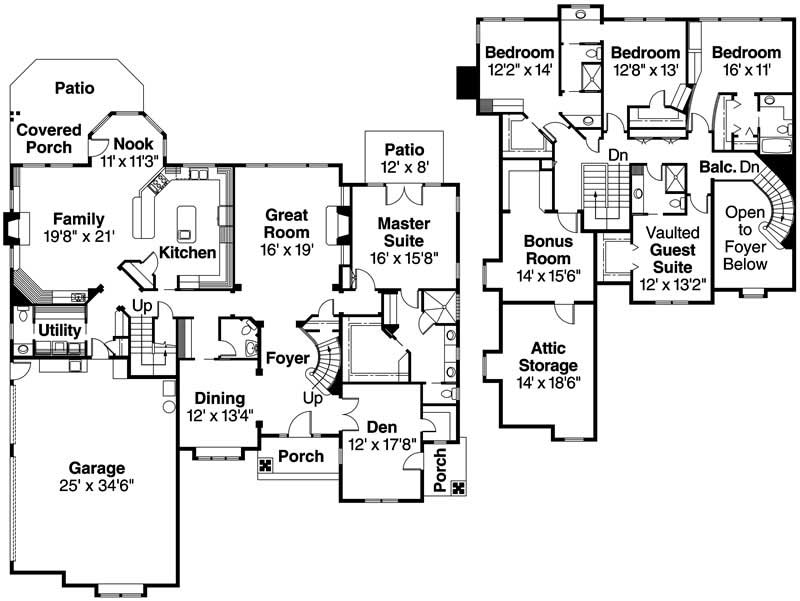 Stunning american home design plans 12 photos building for American house plans free