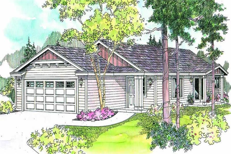 Main image for house plan # 13205