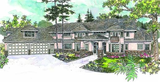 Main image for house plan # 13139