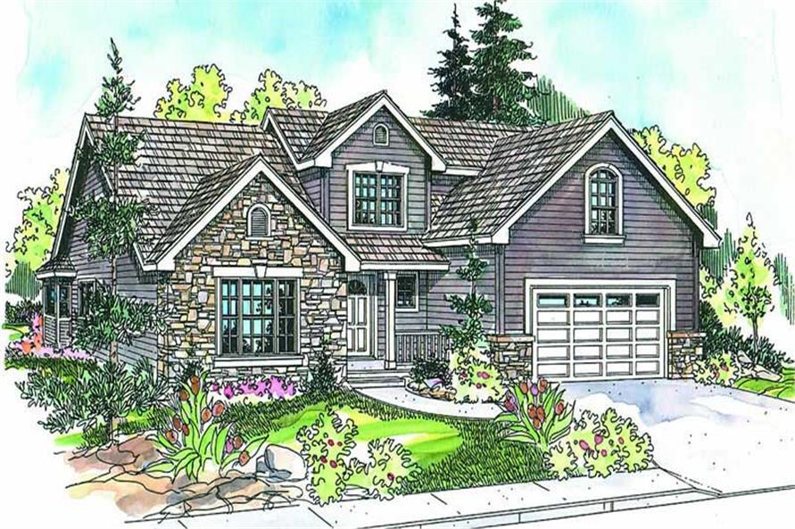 Main image for house plan # 13127