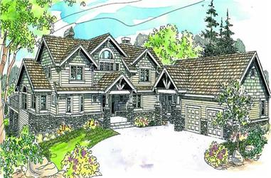Main image for house plan # 13200