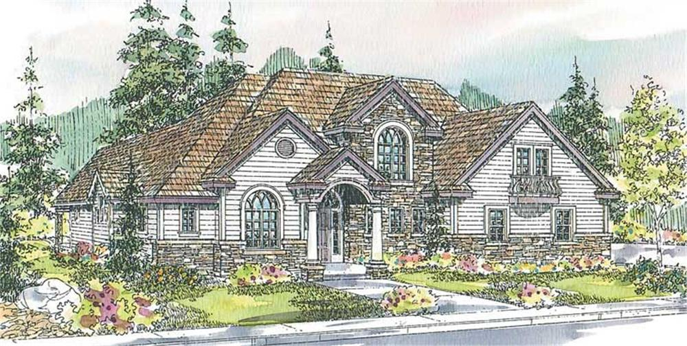 Main image for house plan # 13226