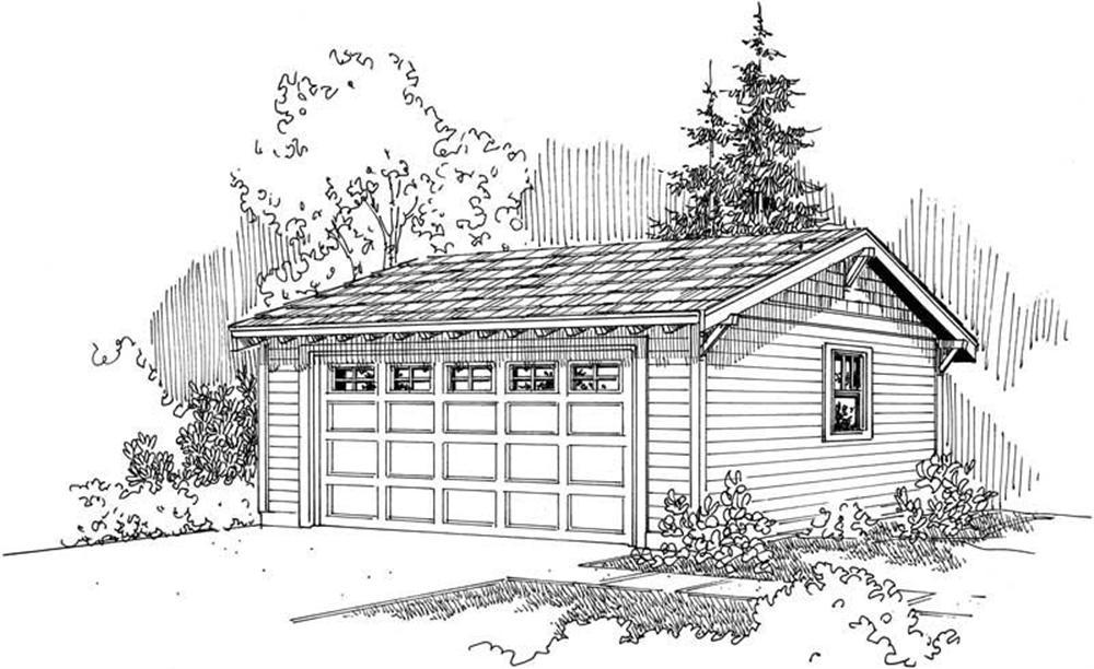 Main image for Garage Plan #108-1652