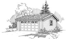 Main image for house plan # 21221