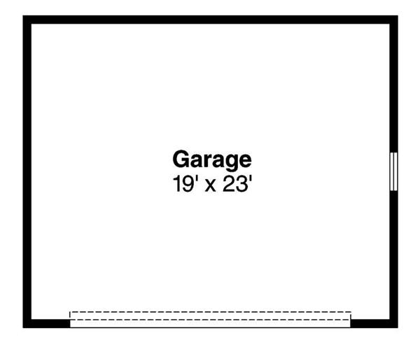 Garage Floor Plan ADI-20-010