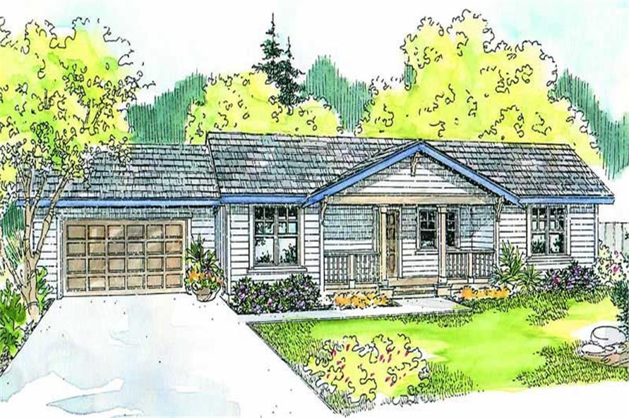Main image for house plan # 13234