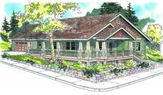 Main image for house plan # 21127