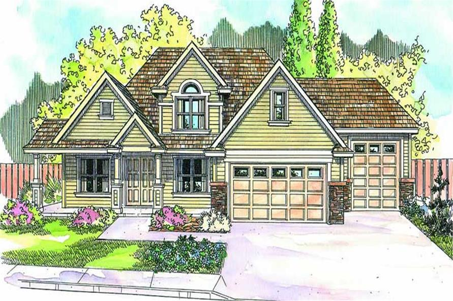 Main image for house plan # 13138