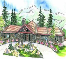 House Plan #108-1672