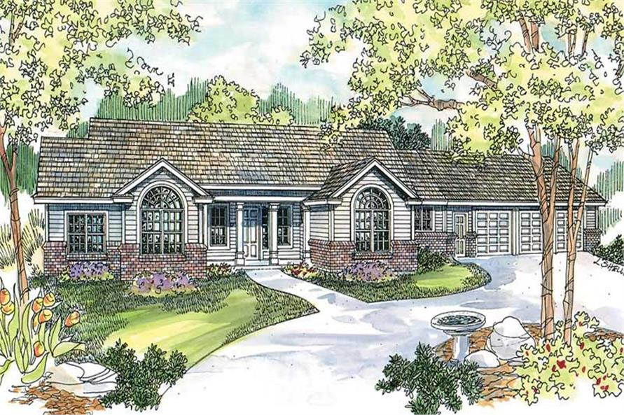 Main image for house plan # 13225