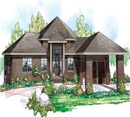 House Plan #108-1696