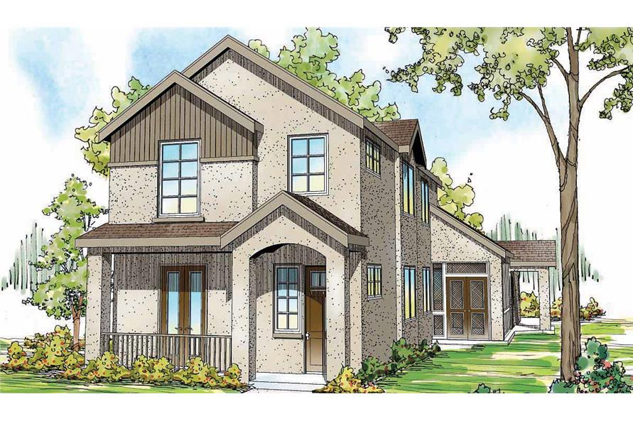 Home Exterior Photograph of this 4-Bedroom,2686 Sq Ft Plan -108-1708