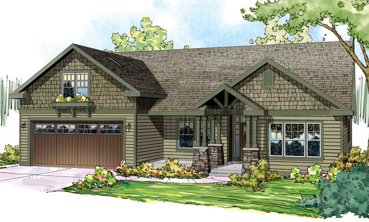 Craftsman house plan 108 1717 3 bedroom 2319 sq ft home for Craftsman house plans with photos