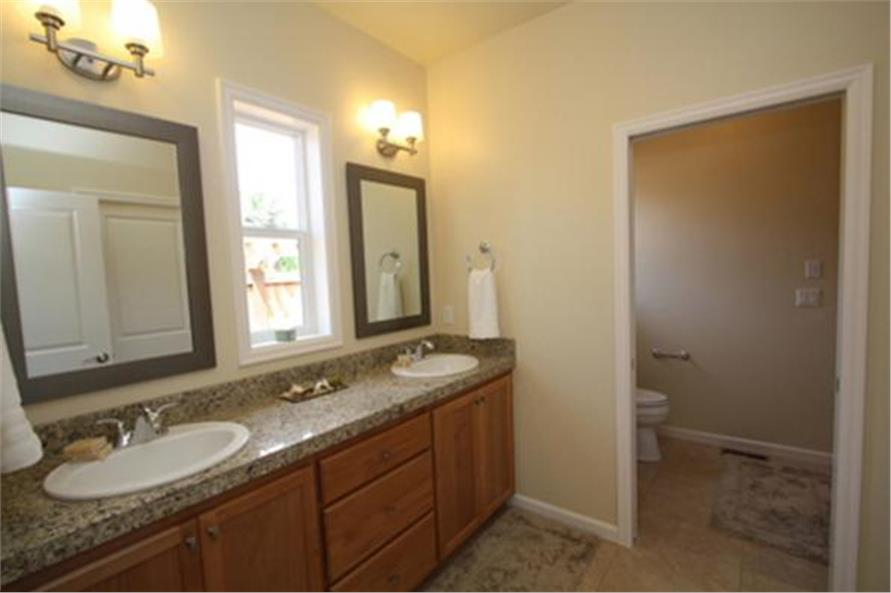 Master Bathroom of this 3-Bedroom,2066 Sq Ft Plan -2066