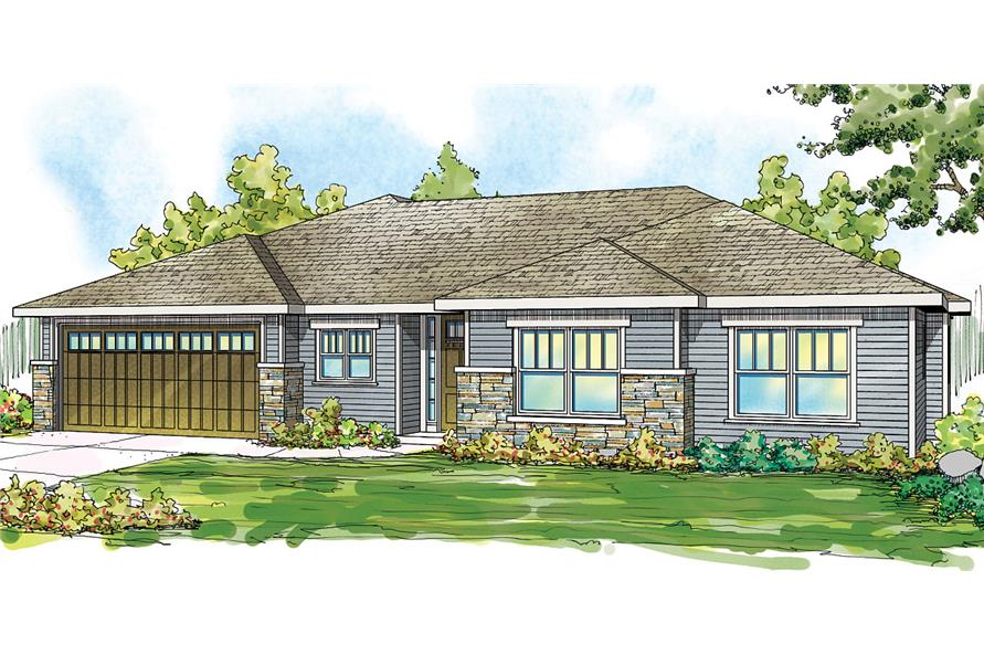 Home Exterior Photograph of this 3-Bedroom,2066 Sq Ft Plan -2066
