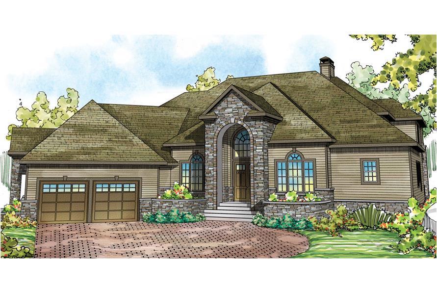 Tudor House Plan #108-1739: 4 Bedrm, 5471 Sq Ft Home ...