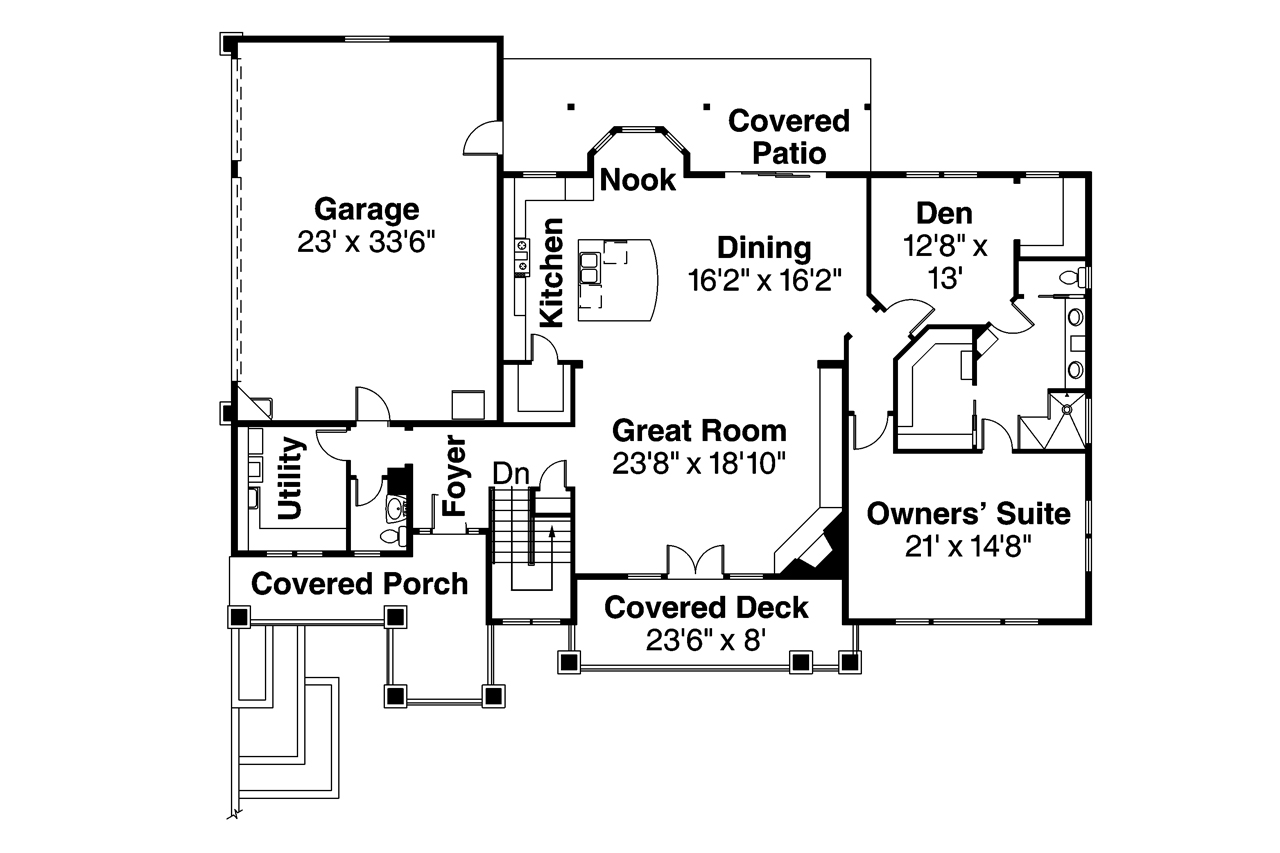 Prairie house plan 108 1744 3 bedrm 3867 sq ft home for Prairie house plan