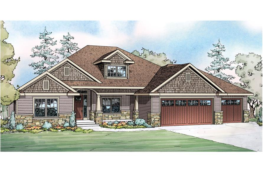 Ranch house plan 108 1751 4 bedrm 2412 sq ft home - What is a ranch house ...