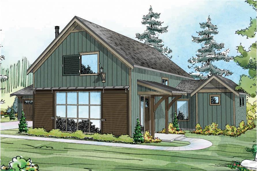 108-1764: Home Plan Rendering