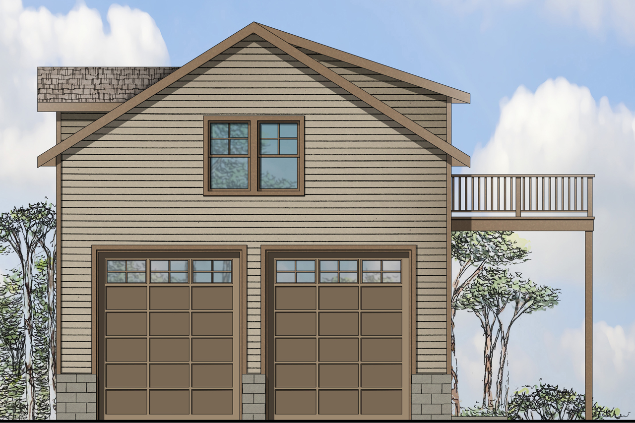 Traditionalplan 108 1769 1 Bedrm 2 Car Garage
