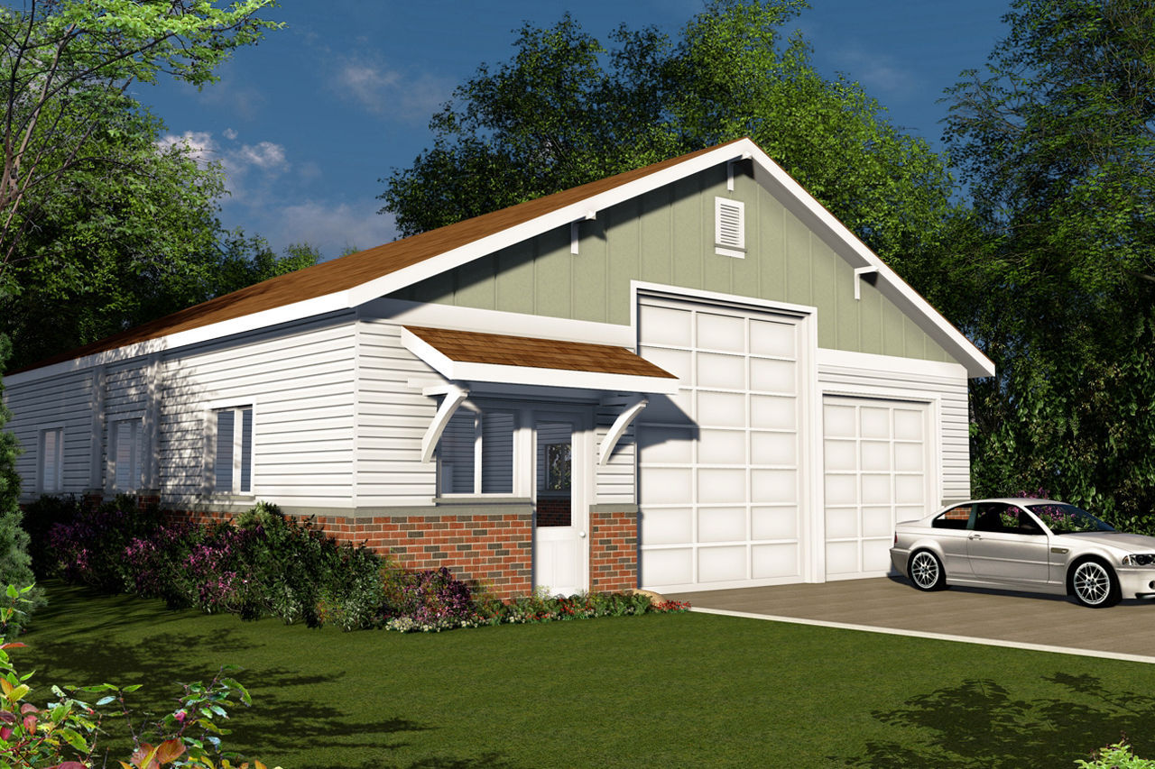 Traditionalplan 108 1777 0 bedrm 4 car garage for Homes with 4 car garages