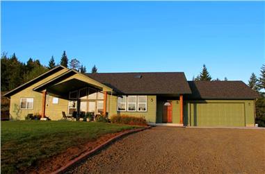 3-Bedroom, 2086 Sq Ft Ranch Home Plan - 108-1787 - Main Exterior