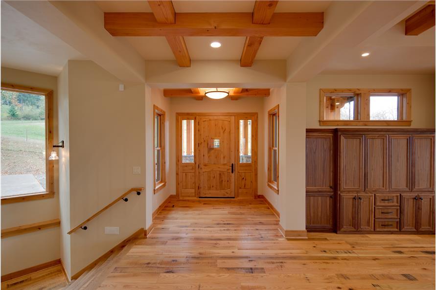 108-1788: Home Interior Photograph-Entry Hall