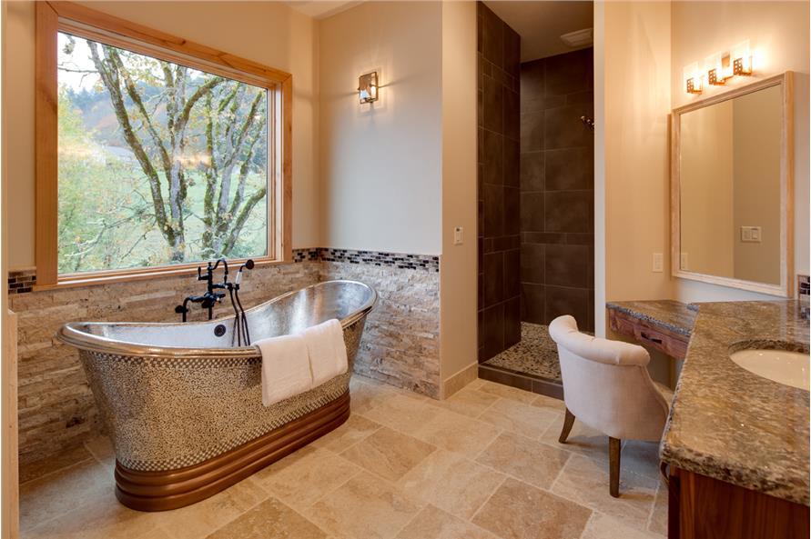 108-1788: Home Interior Photograph-Master Bathroom