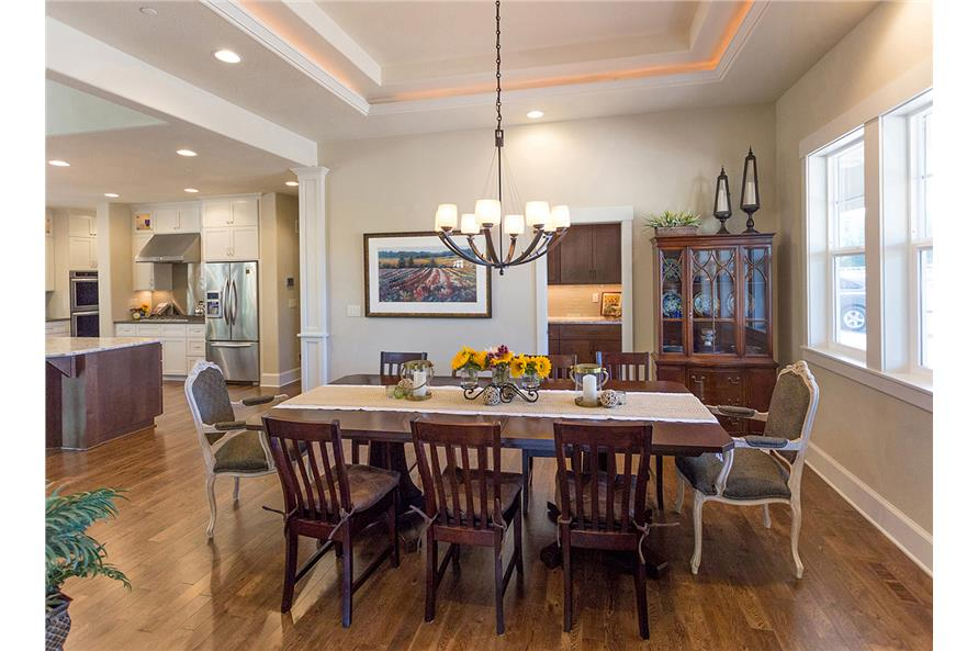 Dining Room of this 3-Bedroom,3815 Sq Ft Plan -3815