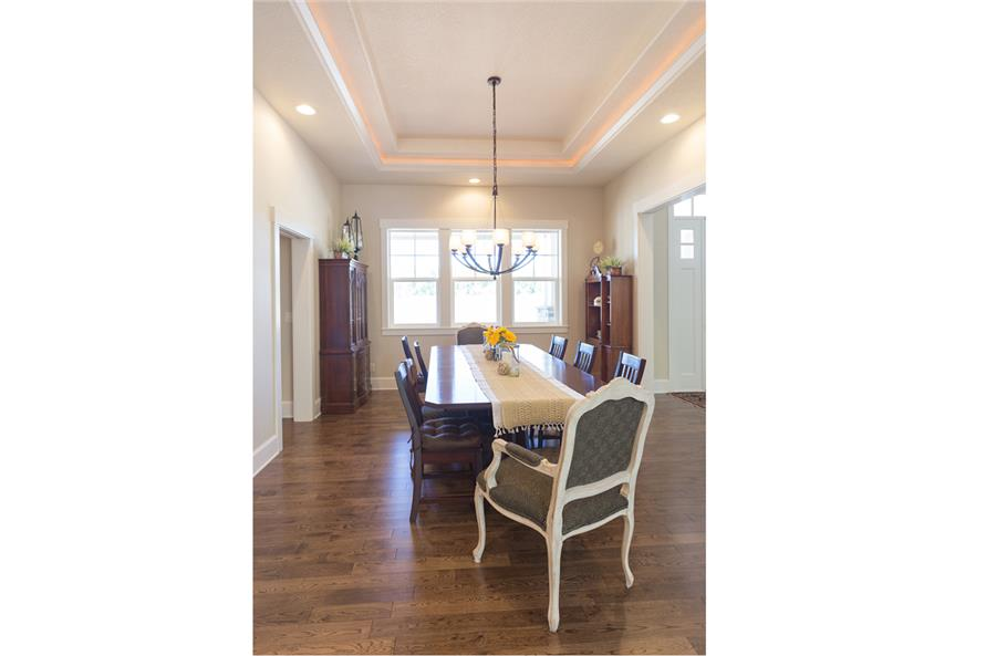 108-1789: Home Interior Photograph-Dining Room