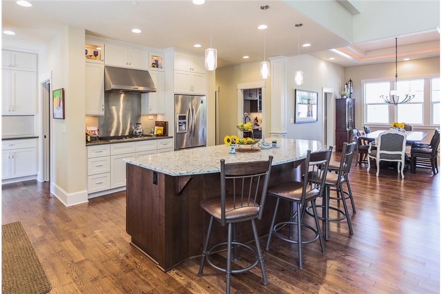 108-1789: Home Interior Photograph-Kitchen: Breakfast Nook
