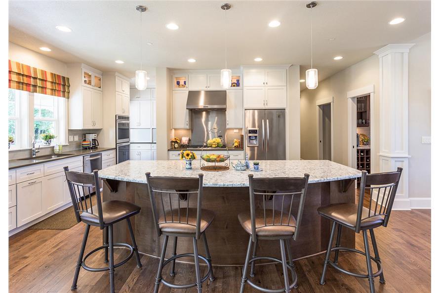 108-1789: Home Interior Photograph-Kitchen