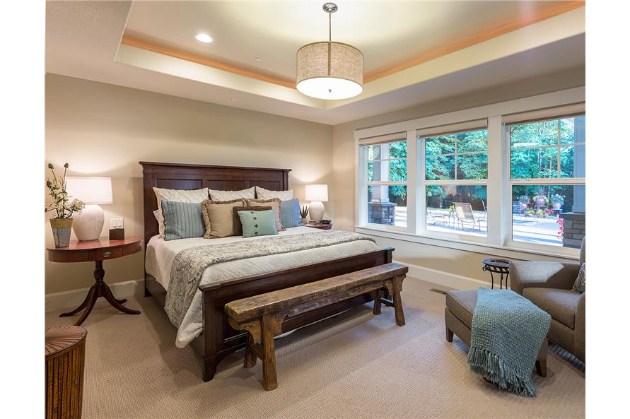 Master Bedroom of this 3-Bedroom,3815 Sq Ft Plan -3815