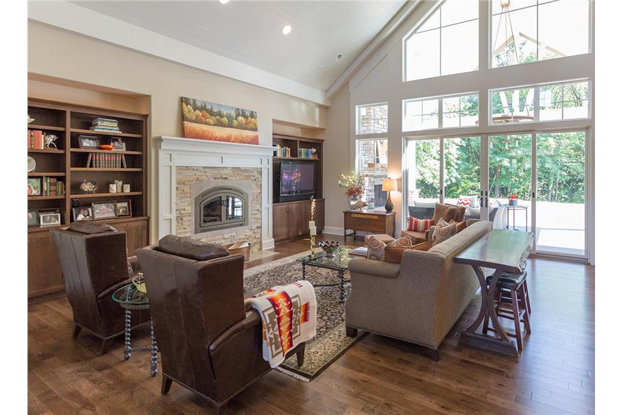 108-1789: Home Interior Photograph-Great Room