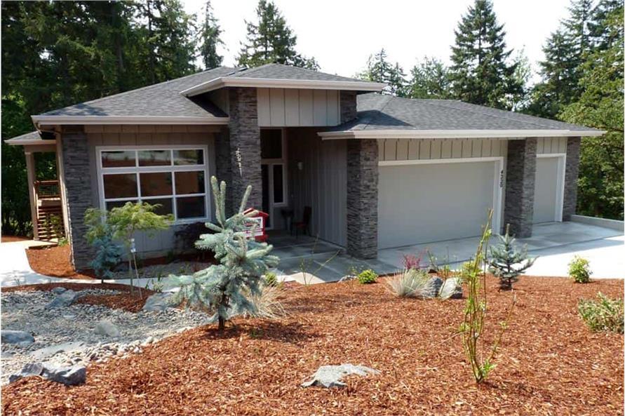 3-Bedroom, 2579 Sq Ft Prairie Home - Plan #108-1790 - Main Exterior