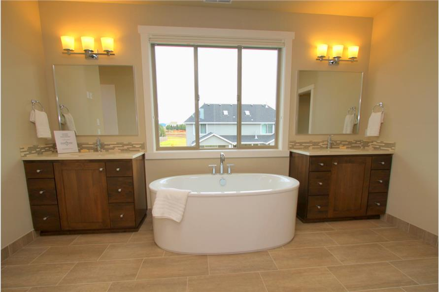 108-1791: Home Interior Photograph-Master Bathroom