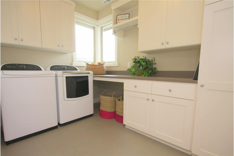 108-1791: Home Interior Photograph-Laundry Room
