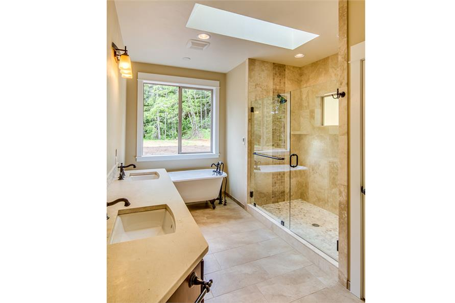 Master Bathroom of this 3-Bedroom,2518 Sq Ft Plan -2518