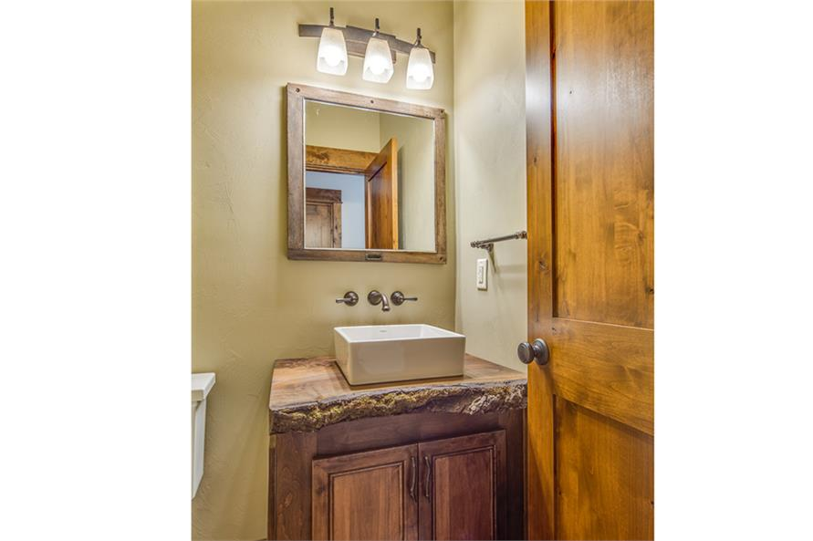 Powder Room of this 3-Bedroom,2518 Sq Ft Plan -2518