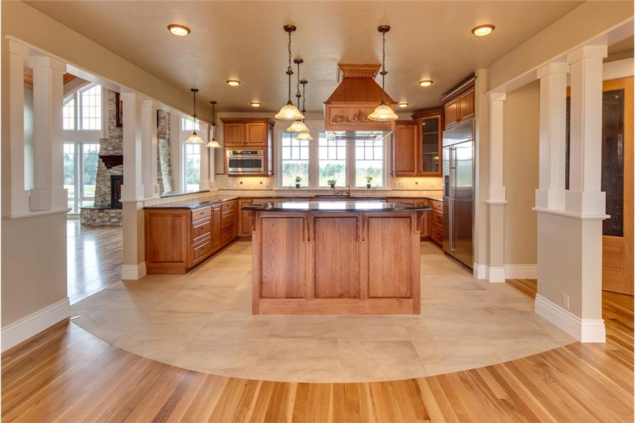 Kitchen of this 3-Bedroom,4568 Sq Ft Plan -4568