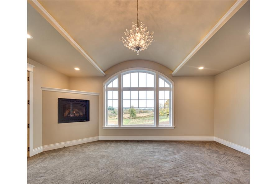 Master Bedroom of this 3-Bedroom,4568 Sq Ft Plan -4568