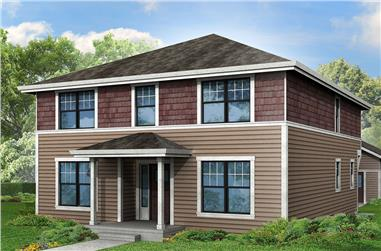 4-Bedroom, 2717 Sq Ft Traditional House Plan - 108-1832 - Front Exterior