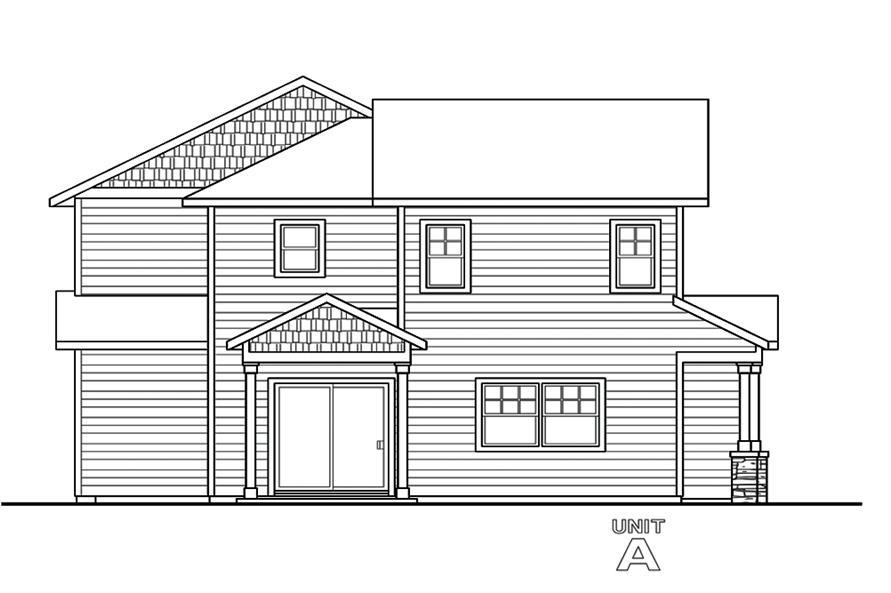 Multi unit house plan 108 1850 3 bedrm 1537 sq ft per for Multi unit home plans